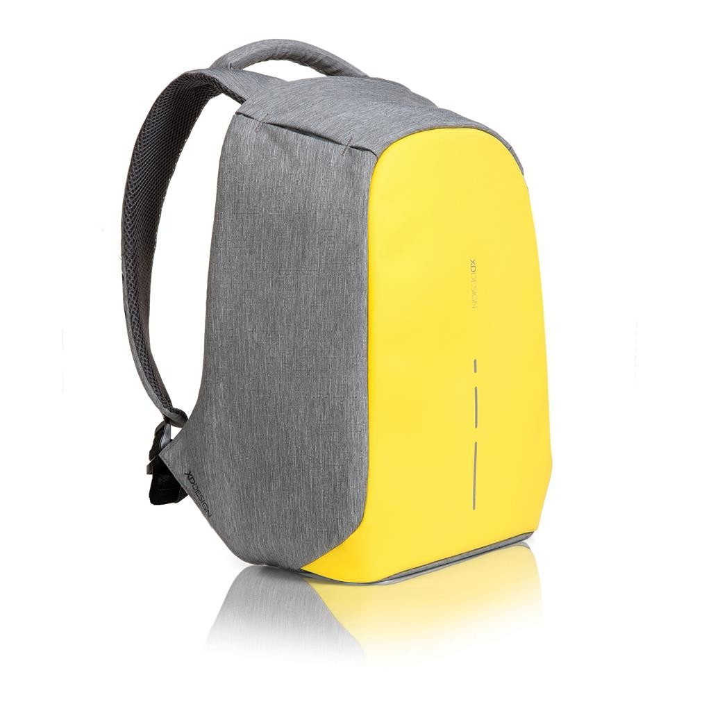 Bobby compact anti-theft backpack, yellow