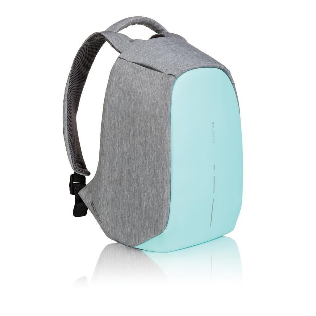 Bobby compact anti-theft backpack, green