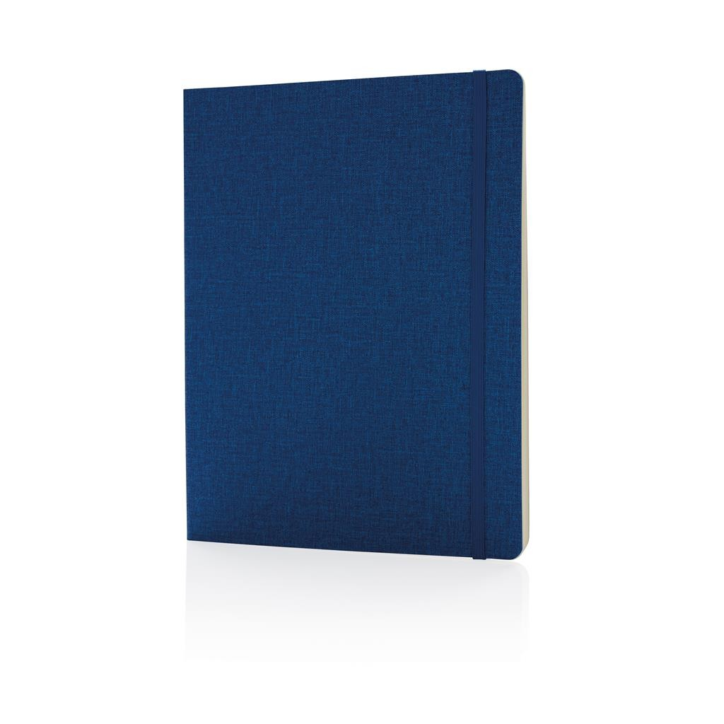 Deluxe B5 notebook softcover XL, blue