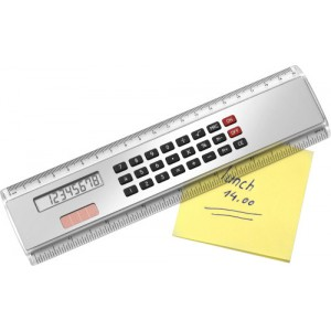 ABS Ruler (20cm) with calculator