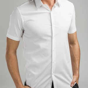 MADRID. Men's poplin shirt