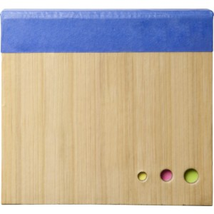 Note block with sticky notes