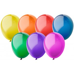 balloon, crystal colour