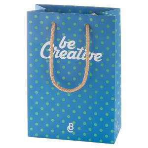 custom made paper shopping bag, small