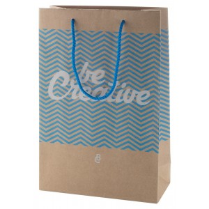 custom made paper shopping bag, medium