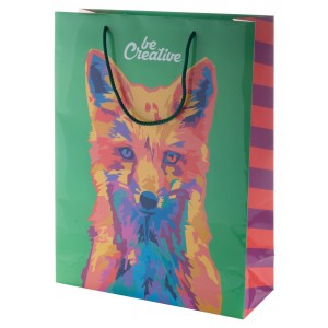custom made paper shopping bag, large