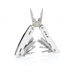 Solid multitool, silver