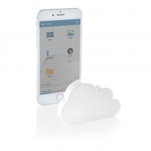 Pocket cloud wireless storage, white