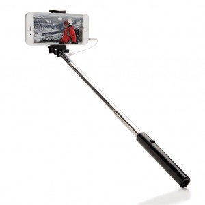 Pocket selfie stick, black