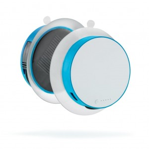 Port solar charger 1.000mAh, turquoise
