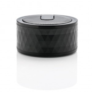Geometric wireless speaker, black