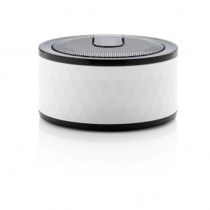 Geometric wireless speaker, white