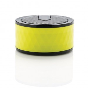 Geometric wireless speaker, lime