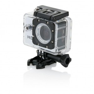 Action camera inc 11 accessories, white