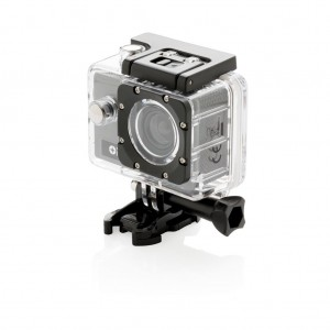 Swiss Peak action camera set, grey