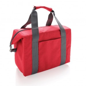 Tote & duffle cooler bag, red