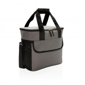 Large basic cooler bag, grey