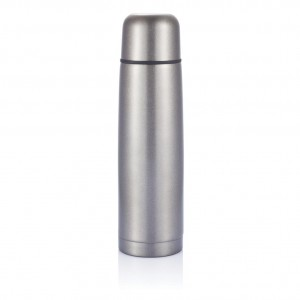 Stainless steel flask, grey