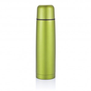 Stainless steel flask, green