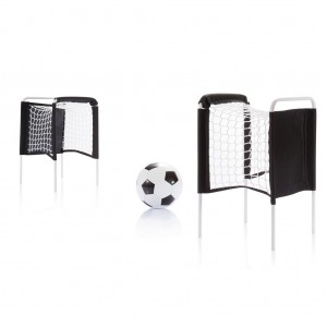 Beach soccer set, black