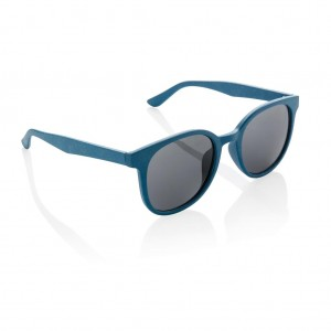 ECO wheat straw fiber sunglasses, blue