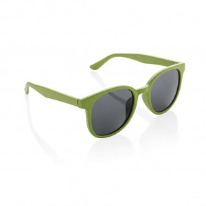 ECO wheat straw fiber sunglasses, green