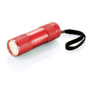 Quattro aluminium torch, red
