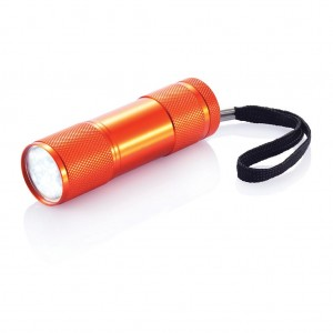 Quattro aluminium torch, orange