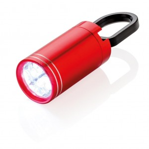 Pull it LED torch, red