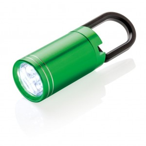 Pull it LED torch, green