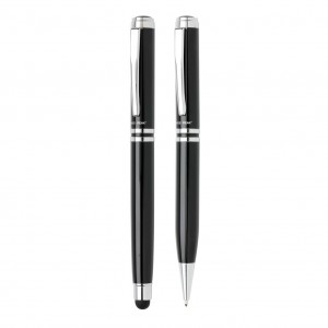 Swiss Peak executive pen set, black