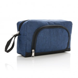 Classic two tone toiletry bag, navy