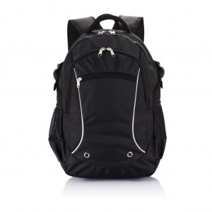 Denver laptop backpack PVC free, black