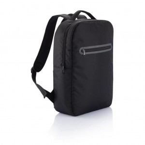 London laptop backpack PVC free, black