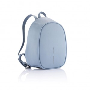 Bobby Elle anti-theft backpack, light blue
