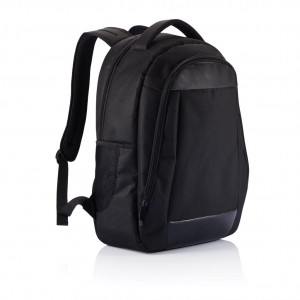 Boardroom laptop backpack PVC free, black