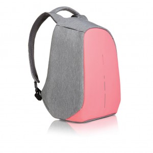Bobby compact anti-theft backpack, pink