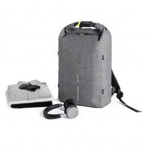 Bobby Urban anti-theft cut-proof backpack, grey
