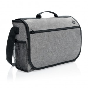 Fashion messenger bag, light grey