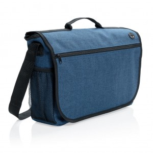 Fashion messenger bag, navy