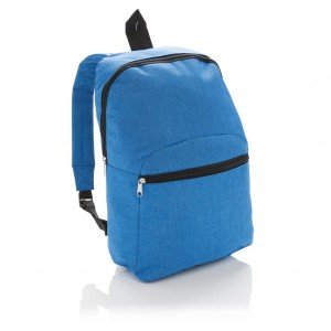Classic two tone backpack, royal blue