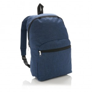 Classic two tone backpack, navy