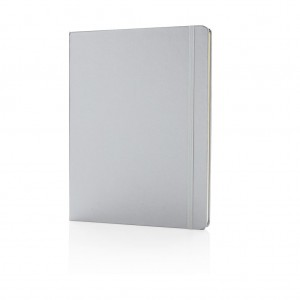 Standard B5 notebook hardcover XL, silver
