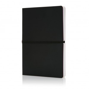 Deluxe softcover A5 notebook, black