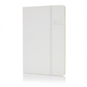 Data notebook with 4GB USB, white