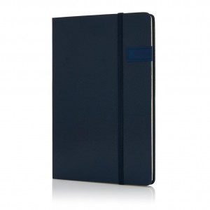 Data notebook with 4GB USB, blue