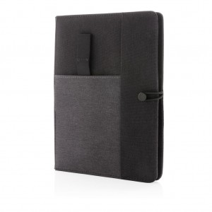 Kyoto A5 notebook cover, black