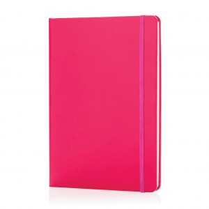 Classic hardcover notebook A5, pink