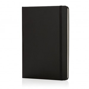 Classic hardcover notebook A5, black