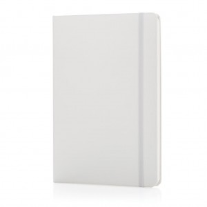 Classic hardcover notebook A5, white